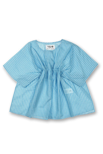 By The Sea Bali Kids Kaftan Blue