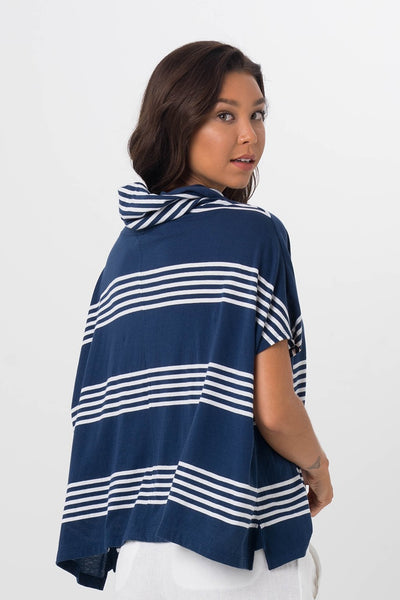 By The Sea Bali Kanoya Cowl Neck Shirt