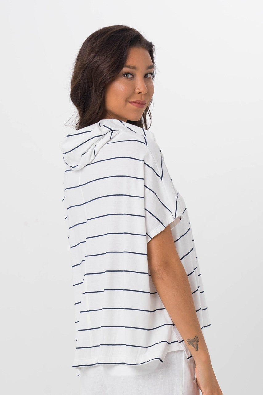 By The Sea Bali Kanoya Cowl Neck T-Shirt