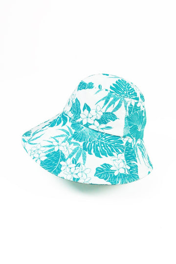 By The Sea Bali Kea Cotton hat Turquoise