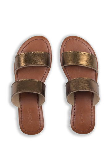 By The Sea Bali Kelly Shoes Bronze