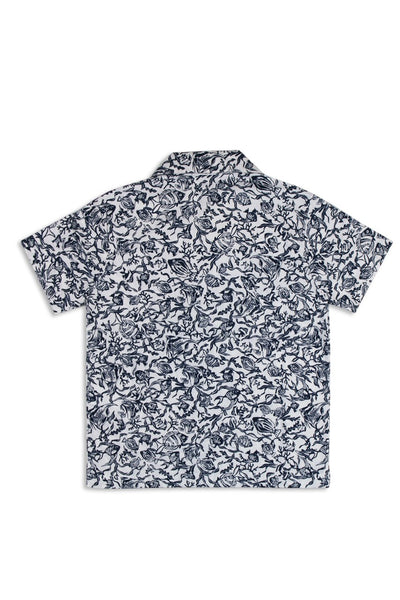 By The Sea Bali Kid's  Bali Tropical Shirt S/S