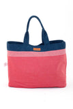 By The Sea Bali Lilica Reversible Bag Navy