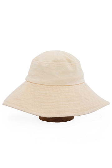 By The Sea Bali Ladies Wide Brim Hat Beige