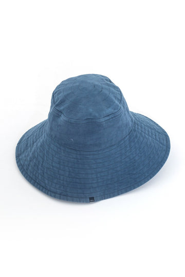 By The Sea Bali Ladies Wide Brim Hat Navy