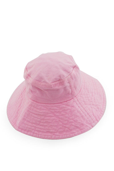 By The Sea Bali Ladies Wide Brim Hat Pink