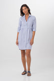 By The Sea Bali Linen Shirt L/S Dress