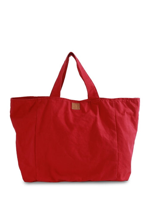 By The Sea Bali Lora Oversize Bag Red