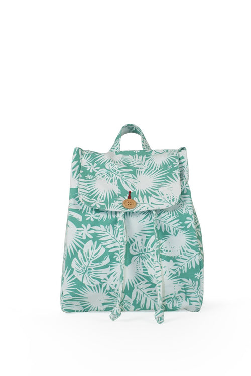 By The Sea Bali Lucia Back Pack Green