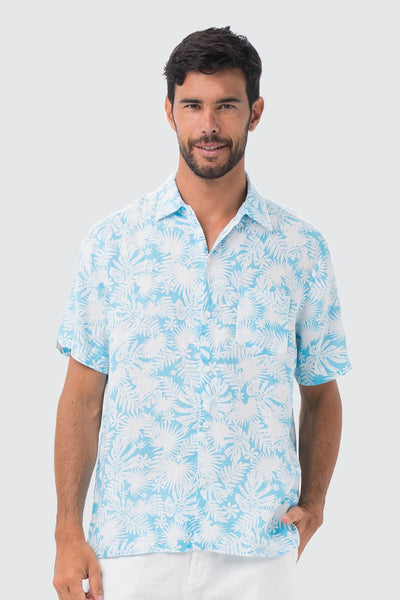 By The Sea Bali Maui Linen Shirt