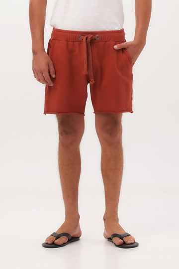 Tasman French Terry Short Pants - By The Sea Bali
