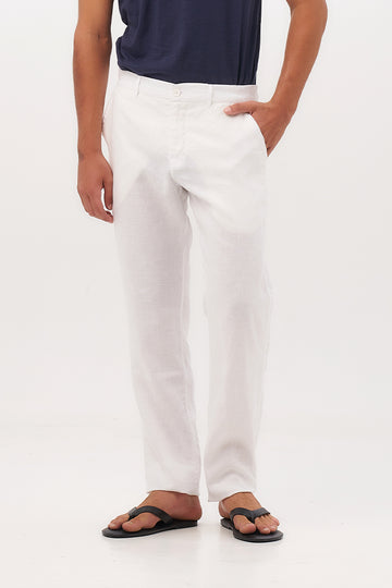 Maury Linen Long Pants - By The Sea Bali