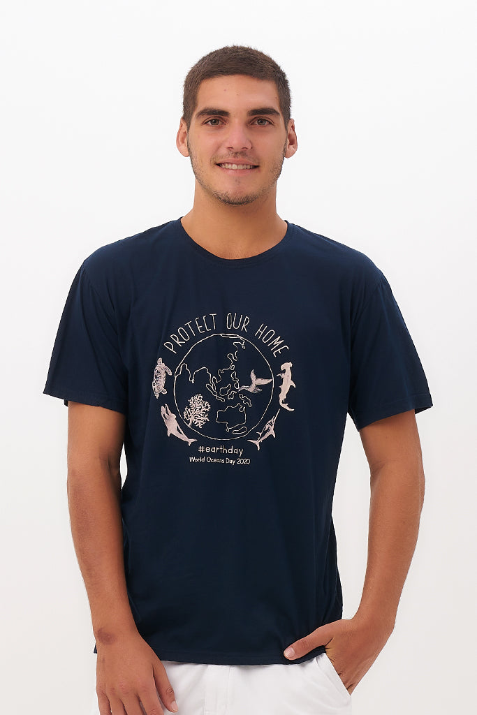 By The Sea Bali Earth Day T-Shirt