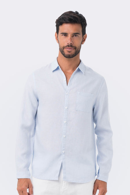 Slim Fit Linen Shirt