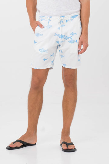Men Short W Drawstring - By The Sea Bali