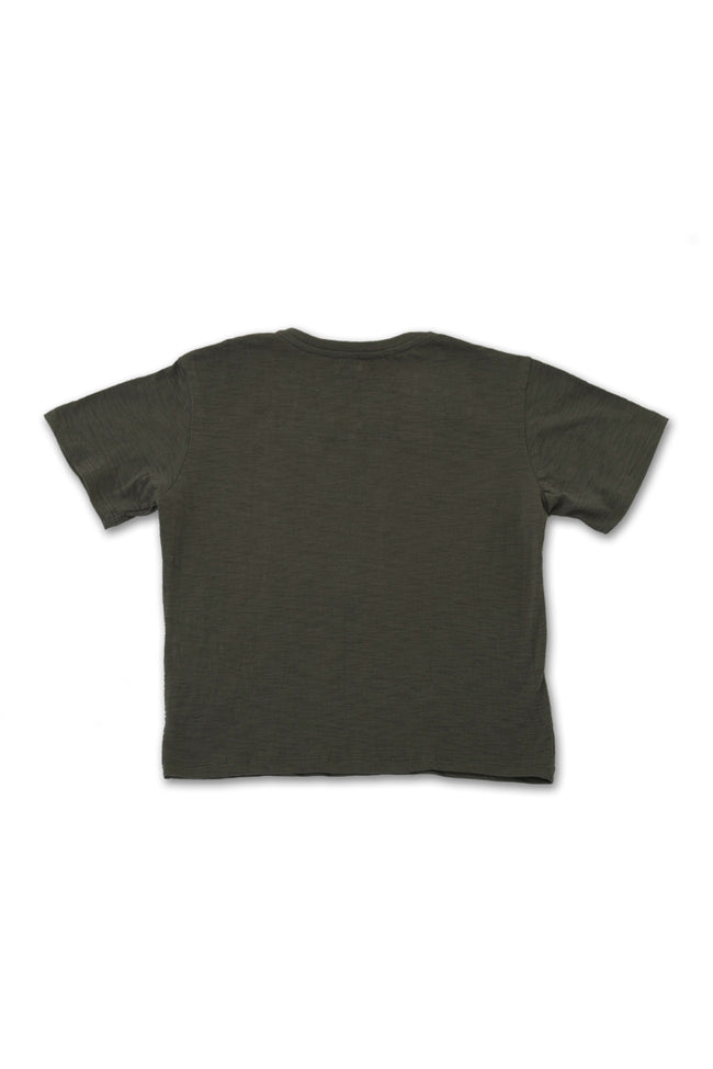 Kids printed T-shirt Gray Beach