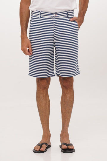 By The Sea Bali Man Custom Fit Bermuda Navy