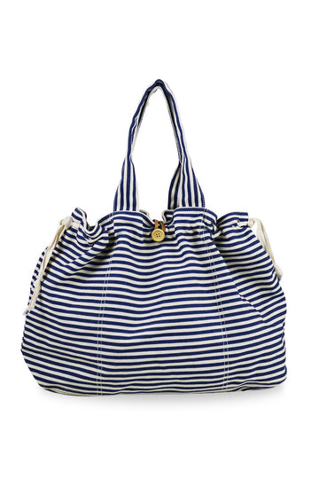 By The Sea Bali Marmara Stripe Bag Navy
