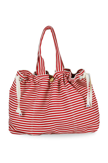Marmara Stripe Bag Red
