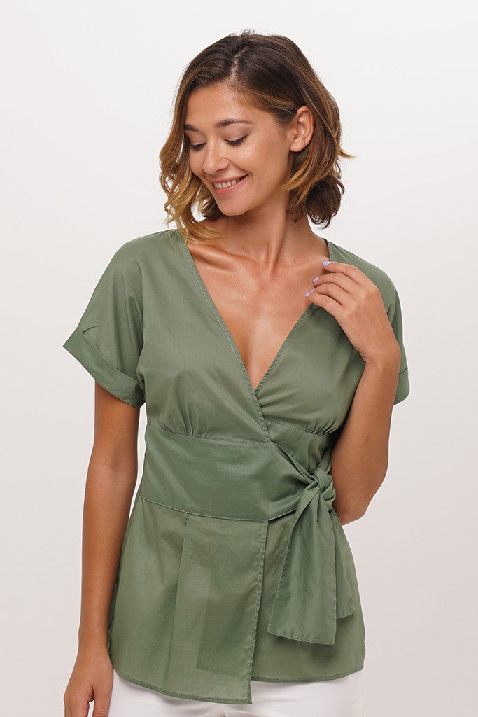 By The Sea Bali Matria Wrap Top