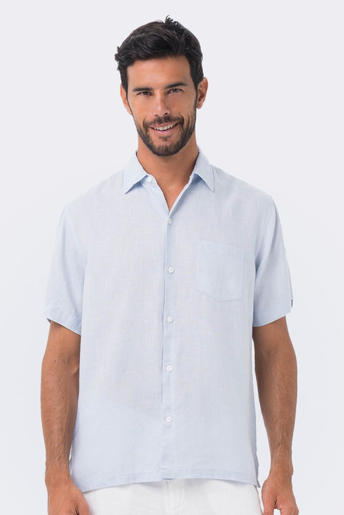 By The Sea Bali Maui Linen Shirt S/S