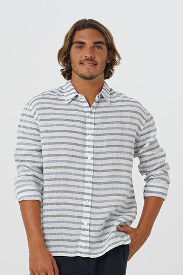 Sulien L/S Linen Shirt - By The Sea Bali
