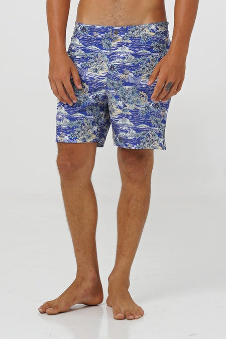 Timor Swim Trunk Blue