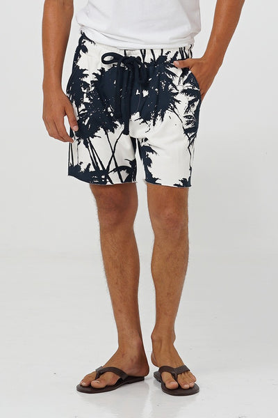 Taran French Terry Short Pants - By The Sea Bali