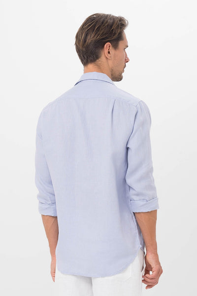 By The Sea Bali Men Linen Shirt L/S