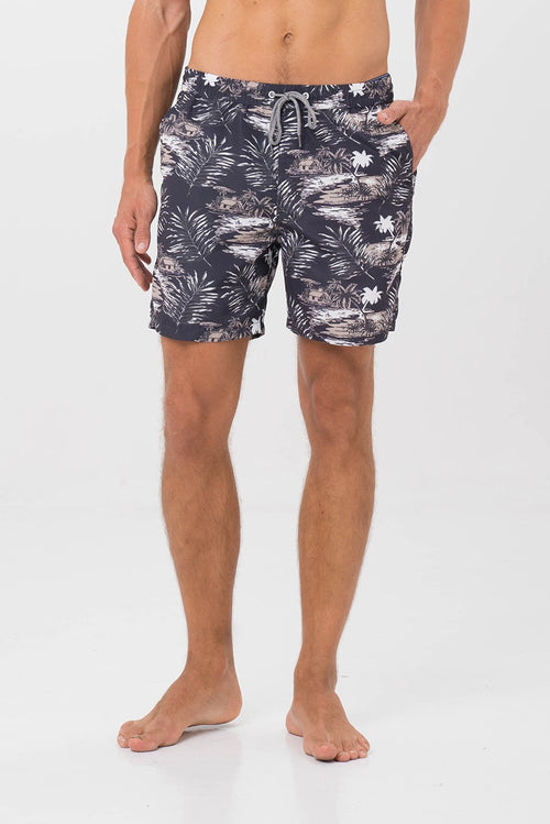 By The Sea Bali Men's Swimming Trunk Grey