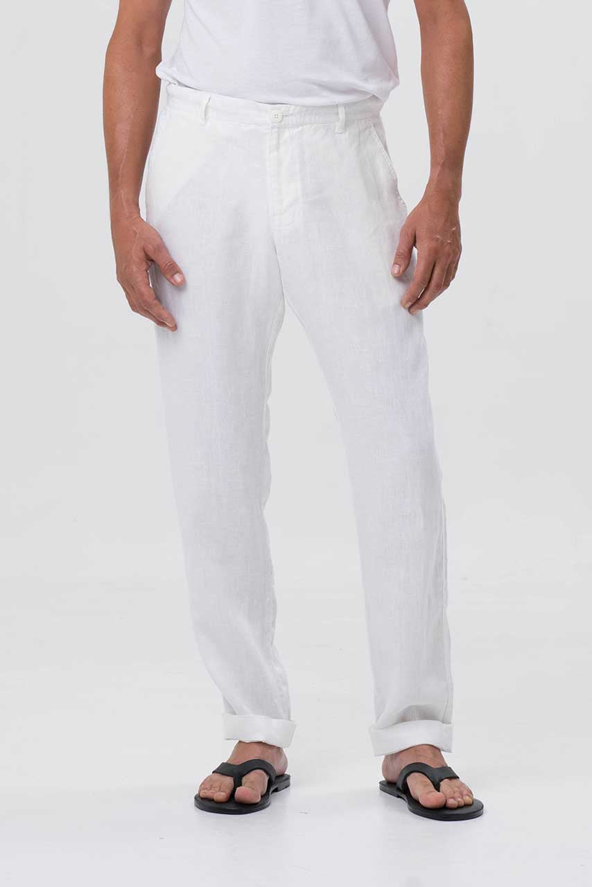By The Sea Bali Mens Linen Trousers