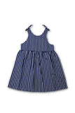 By The Sea Bali Molly Tie Dress Navy