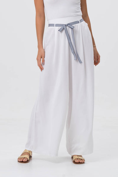 Mykonos Wide Long Pants - By The Sea Bali