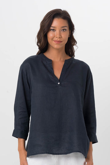 By The Sea Bali Noosa Shirt Navy