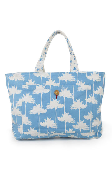 By The Sea Bali Palermo Tote Bag Blue