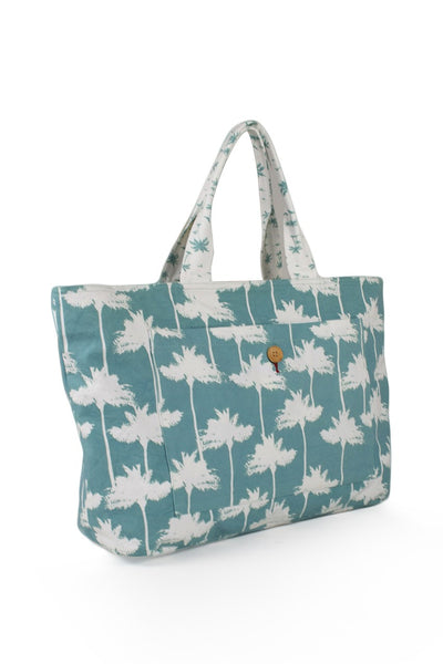 By The Sea Bali Palermo Tote Bag Green