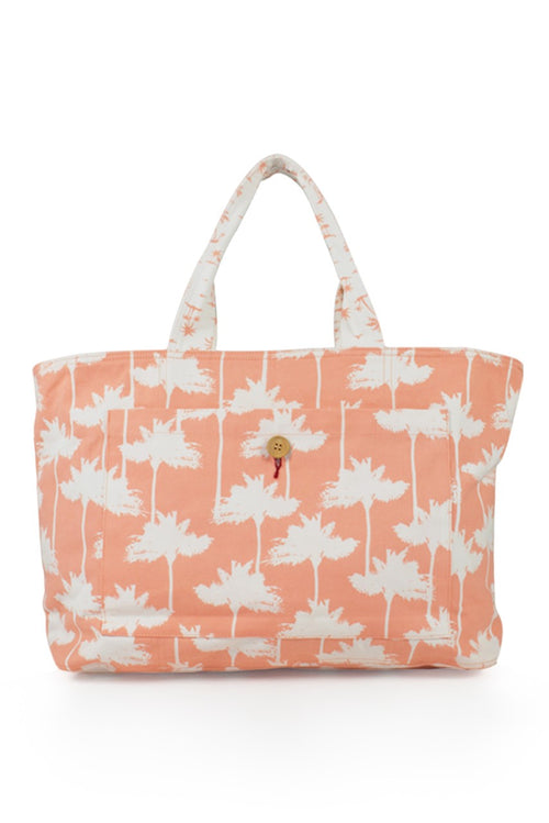 By The Sea Bali Palermo Tote Bag Orange