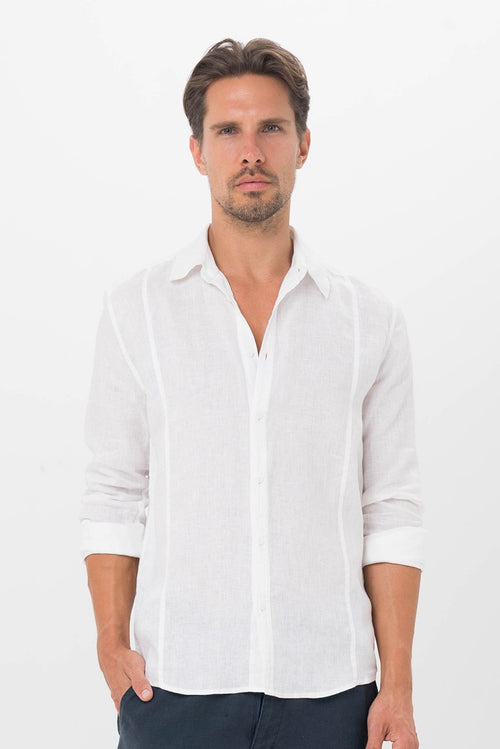 By The Sea Bali Palermo Linen Shirt