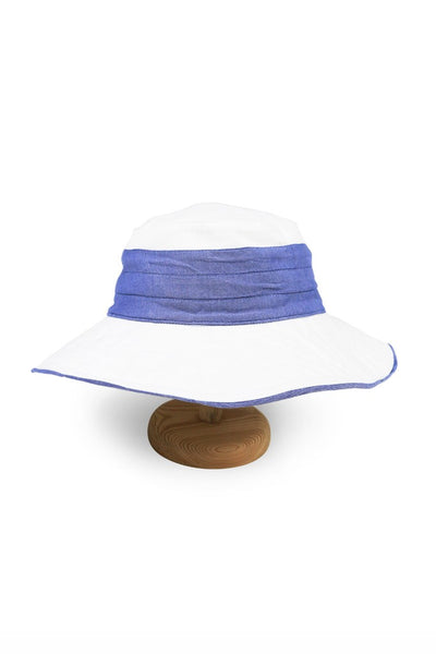 By The Sea Bali Santorini Hat Blue