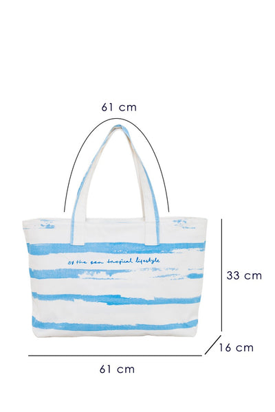 Shelby Tote Bag Blue