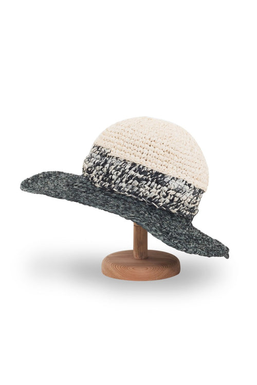 Stripe Fedora Hat