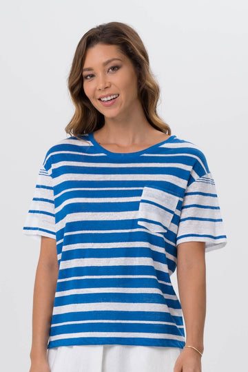 Sail Away Shirt Blue