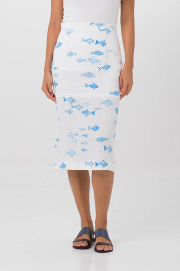 Saint Lucia Midi Skirt - By The Sea Bali