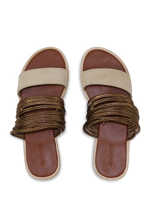 By The Sea Bali Dusk Leather Sandals