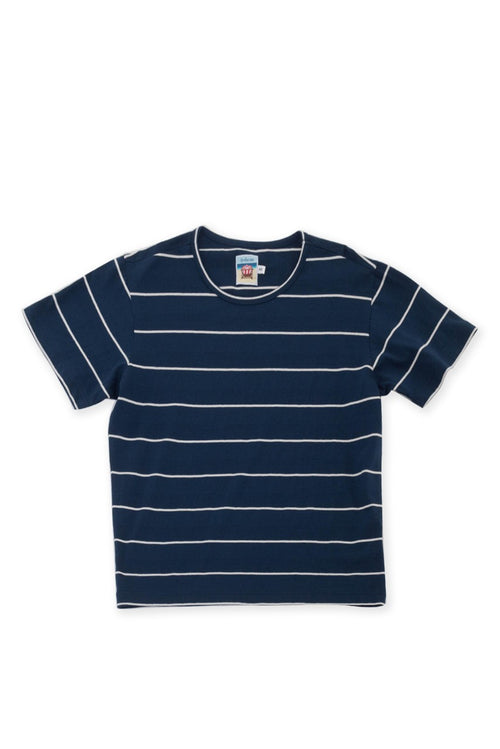 Short sleeves basic T-shirt Navy