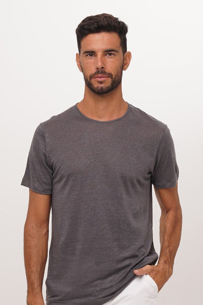 By The Sea Bali Sumatra Linen T-Shirt