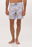 By The Sea Bali Timor Swim Trunk Blue