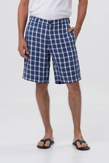 Tomas Linen Short - By The Sea Bali