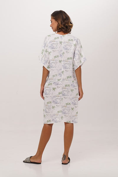 Trawangan Linen Dress - By The Sea Bali