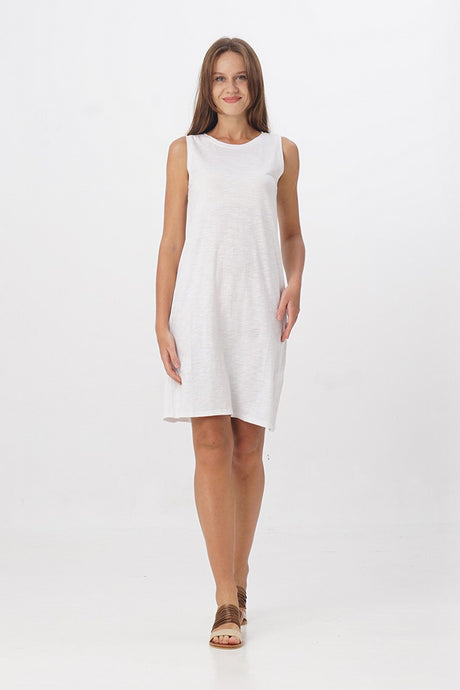 Brenna Sleeveless T-shirt Dress